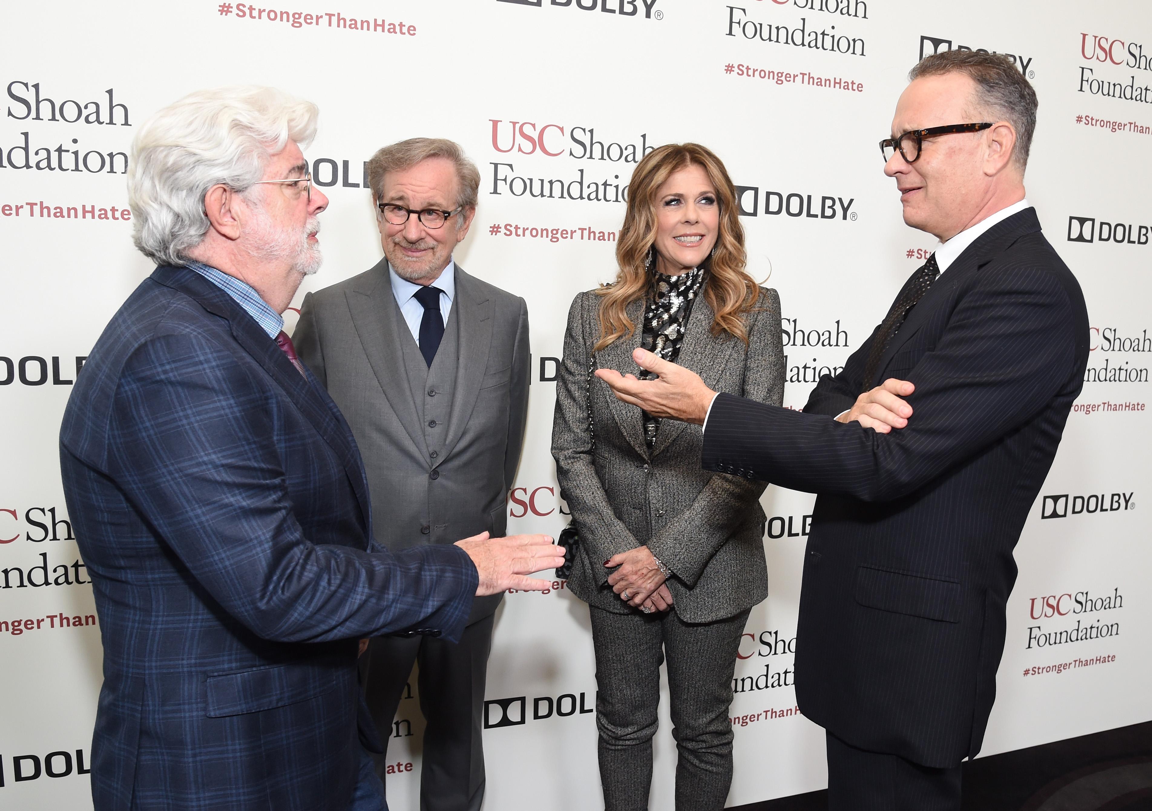 Steven Spielberg and USC Shoah Foundation Honor Rita ...